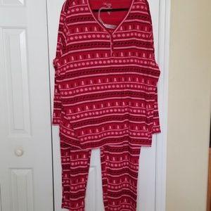 Cotton winter jammies